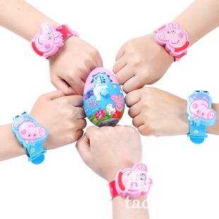 【小猪佩奇手表玩具糖】网红零食社会人佩琪手表奶片糖果儿童零食